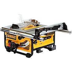 DEWALT 10-inch Compact Job Site Table Saw