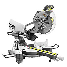 RYOBI 15-Amp 10 inch Sliding Mitre Saw with Laser