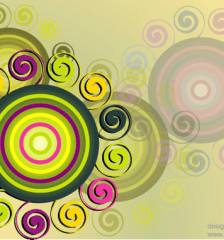 swirl_circle_background_free_vector