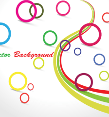 063-colorful-circle-vector-graphic-design-background