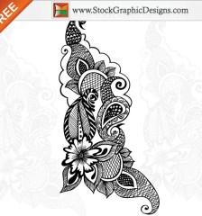 048-free-vector-ornamental-floral-design-l