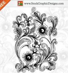 051-beautiful-decorative-floral-free-vector-illustration-l