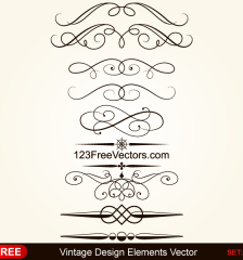 232-vintage-calligraphic-decorative-elements-vector