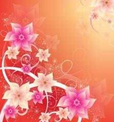 276-summer-floral-background-vector-image