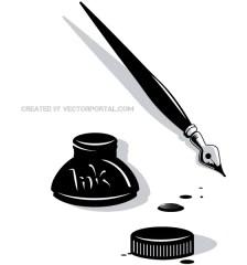 506-ink-pen-vector-clip-art