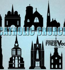 039-catholic-church-vector-silhouette-illustration-l
