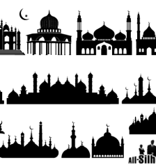 048-islamic-mosque-silhouette-vector-illustration