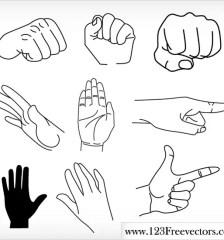112_Free_Vector_Hands