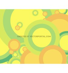 green-bubbles-background-free-vector-3380