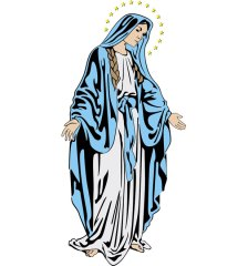 holy-mary-image-free-vector-2663
