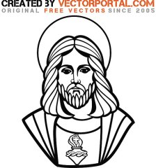 jesus-christ-graphic-art-free-vector-1269