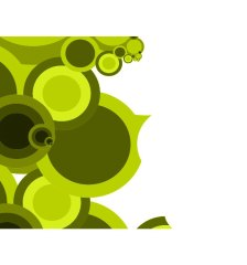 olive-retro-circles-on-green-background-free-vector-459