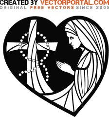 prayer-illustration-free-vector-1394