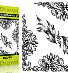 Hand_Drawn_Floral_Corners_Vol_3