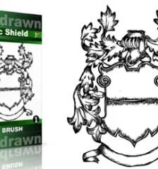 Hand_Drawn_Heraldic_Shield_Vol_1