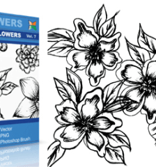 vector_sketchy_flowers_7