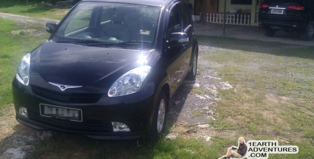 My Perodua MyVi - she served me for 6 years and oh so well. She will be missed.
