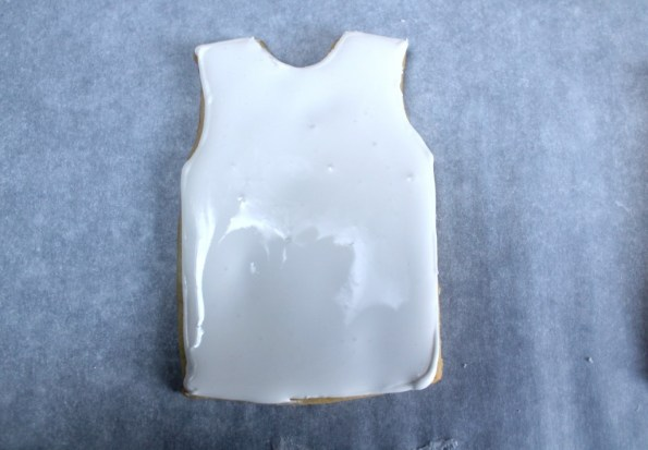 Flood basketball jersey with royal icing