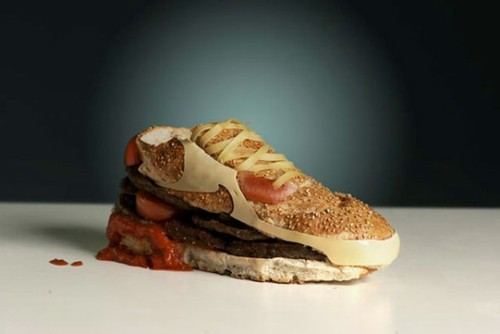 burger shoes