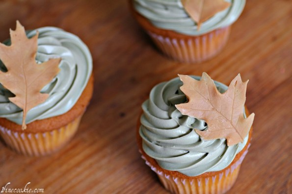 peanut butter leaves chocolate leaves cake pops fall cupcakes