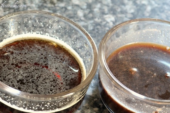 Guinness, with or without cocoa