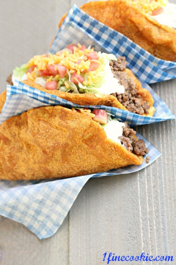 Doritos Locos Taco Recipe by 1 Fine Cookie