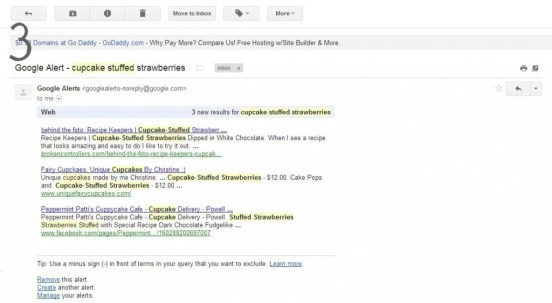 google alert email How to Set Up Keyword Alerts For Your Blog Posts, How to find your photo on Google by dragging image