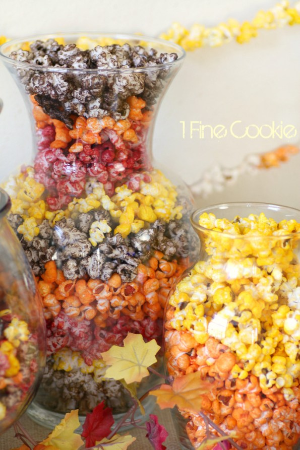 How to Color Popcorn without sugar Koolaid or Jello, Colorful, Autumn, Halloween, Popcorn, 1 Fine Cookie, Bacon Cheddar, Nacho Cheddar, Milk Chocolate, Caramel, Butter, Buffalo, Popcorn, Seasoning, Kernel Seasons, Jasmin Fine, colored, how to, make, dye, without, koolaid, sugar, savory, sweet, pop, orange, red, brown, yellow, powdered, food coloring, treat, party, ideas, table, wedding, favors, thanksgiving, fall, burlap, tan, gold, pumpkins, decor, decoration,