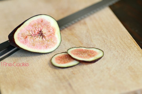 Figs and Fig Tart Recipe by 1 Fine Cookie, tart, crust, fruit, fresh, creamy, cream, filled, butter, crust, recipe, dessert, chevron, graphic, preppy, food, idea, print, heavy, light, pink, seed, how, to, make, dough, baked, kitchenaid, small, bake, large, blog, foodie,