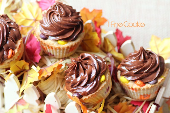 Reese's Cookie Dough Cupcake Recipe