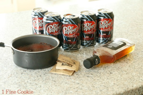 Dr. Pepper Recipe with Whiskey, Texas, Dr. Pepper, Whiskey, Jello Shots, shape, state, white, jelly, shots, shooters, country, south, cute, party, cherry, soda, how to, diy, ratio,