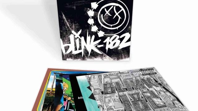 Blink-182 Limited Edition Seven Album Vinyl Box Set
