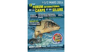 Salon de la pêche de la carpe et du silure de Montluçon 2014
