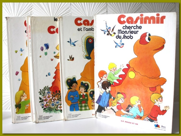 Collection de livres Casimir vintage