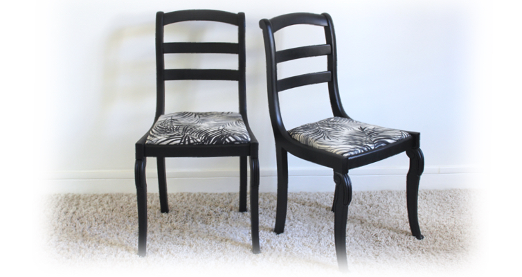 Chaises style Restauration Louis-Philippe