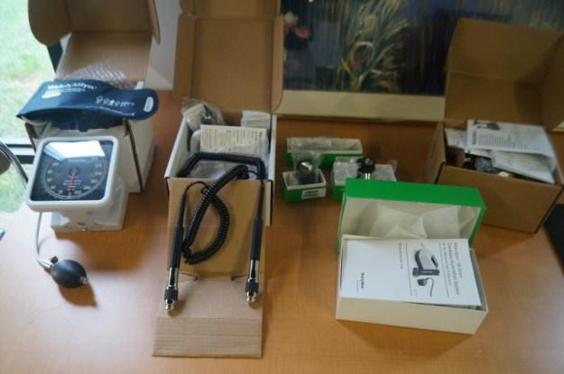Opthlmascope sets Welch Allyn
