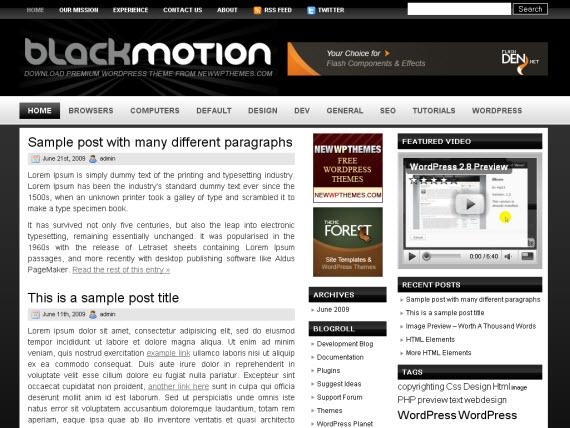 black-motion-free-premium-wordpress-theme