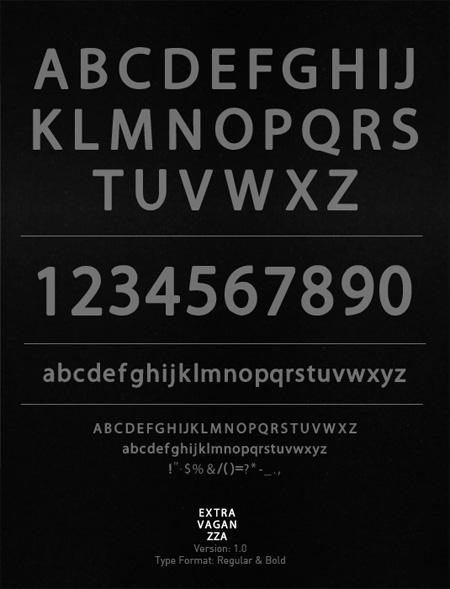 Extravaganzza-free-fonts-minimal-web-design