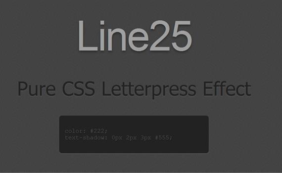 Pure-letterpress-css3-text-effect-tutorials
