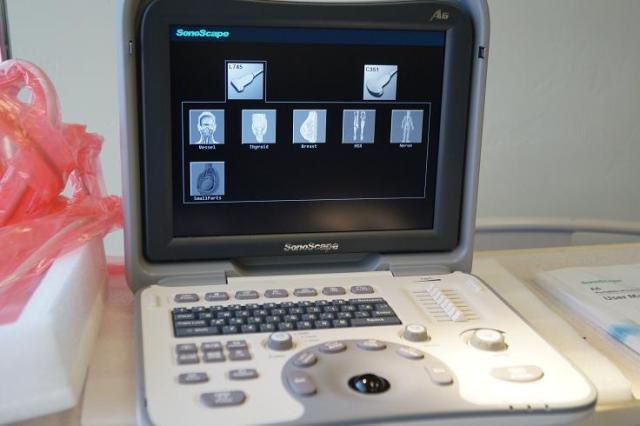 Sonoscape A6 portable ultrasound