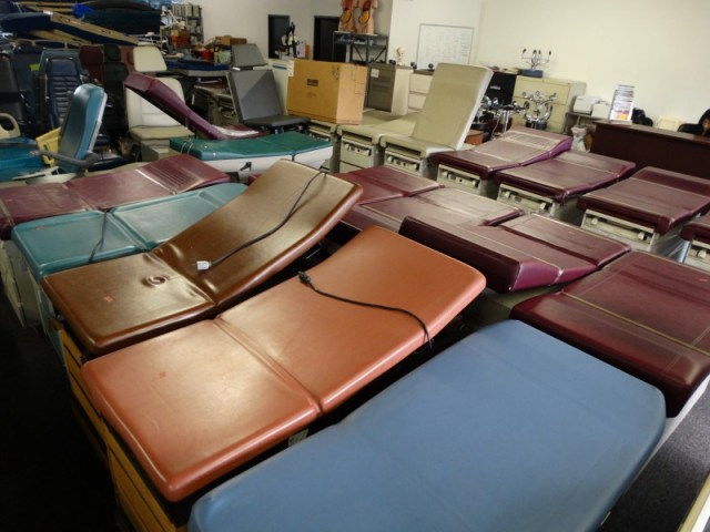 Joerns Exam Room Tables on sale $250 each while supply lasts!