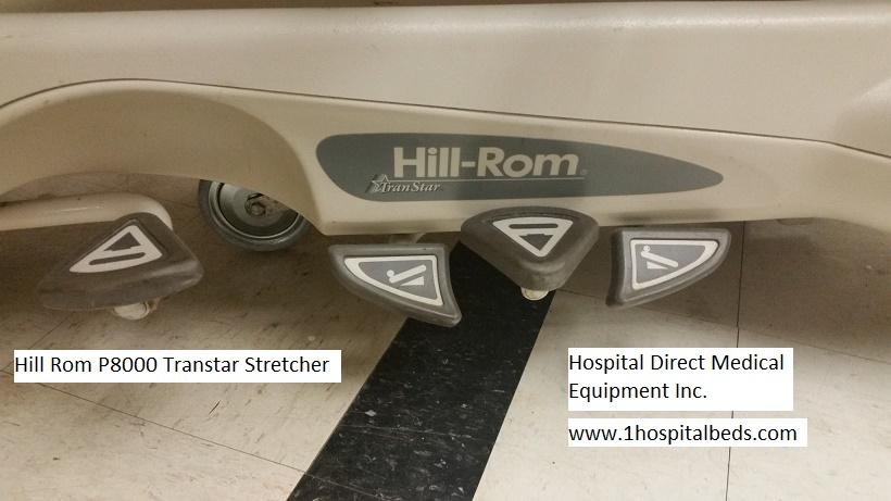 Hill Rom P8000 Transtar stretcher 2