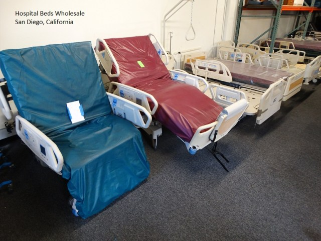 Hill-Rom-TotalCare-P1900-Treatment-Bed and Sport Hospital beds