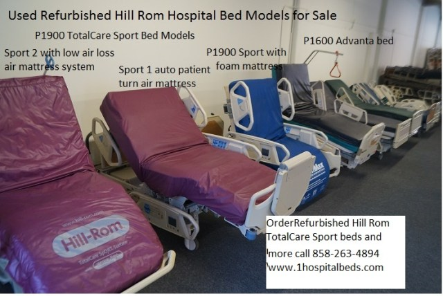 Hill Rom P1900 TotalCare Hospital Bed Models