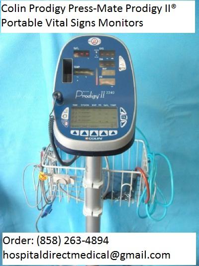 Colin Prodigy Press-Mate Prodigy II Portable Vital Signs Monitor