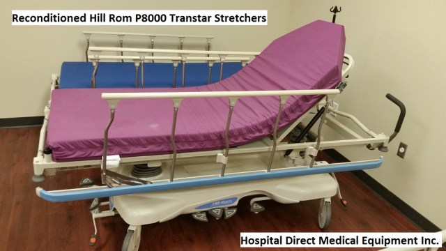 Hill Rom P8000 Transtar Gurney Stretcher for sale 858-263-4894 - reconditioned