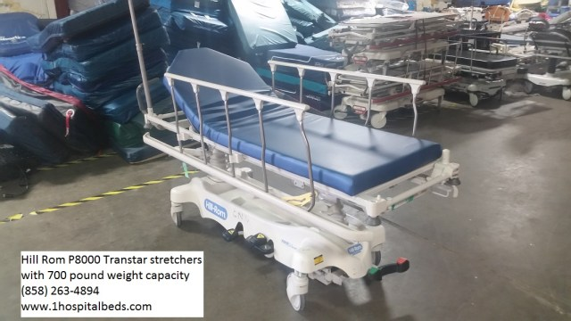 Hill Rom P8000 Transtar stretchers for sale  - order 858-263-4894