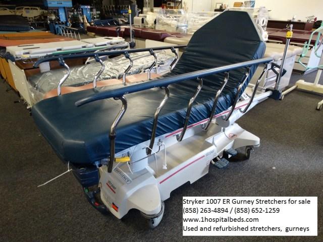 Stryker 1007 stretcher gurney for sale - order 858-263-4894