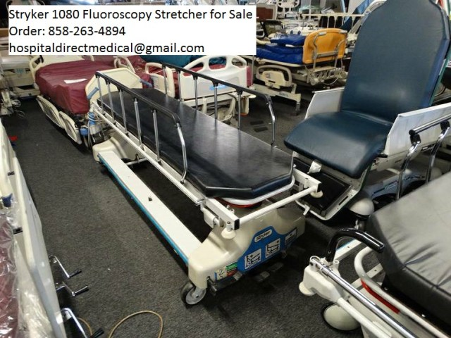 Stryker Fluoroscopy stetcher for sale - order 858-263-4894 or email us at hospitaldirectmedical@gmail.com