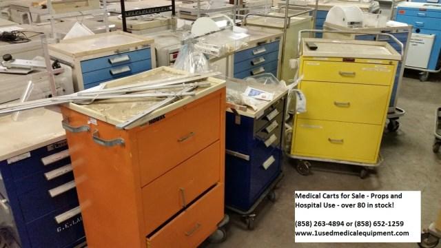 Medical carts hospital carts for sale 858-263-4894